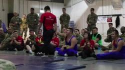 News Package: Soldiers Support Special Olympics of Romania