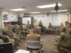 Seabees Discuss Stress Management