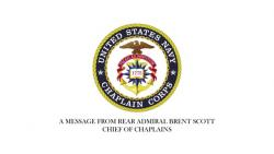 Chief of Chaplains Holiday Message