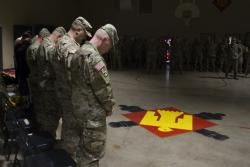 Oklahoma's 160th Field Artillery welcomes new commander, honors another