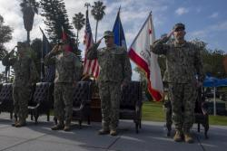 EOD Group One Holds Change of Command