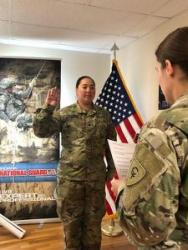 Hoosier National Guard soldier extends service