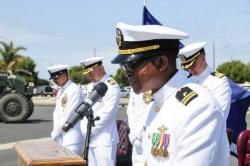 NMCB-3 Holds Change of Command Ceremony