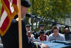 Nevada National Guard Chaplain Troy Dandrea Delivers Prayer at City of Las Vegas National Day of Prayer Ceremony