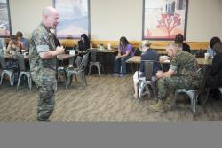 National Day of Prayer Breakfast aboard MCLB Barstow